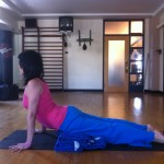 Prenatal Yoga Modification for Cobra pose at almost 19 weeks pregnant