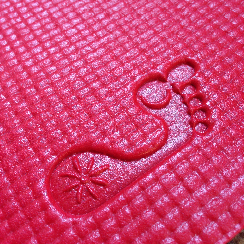 Barefoot Yoga Mat Crimson